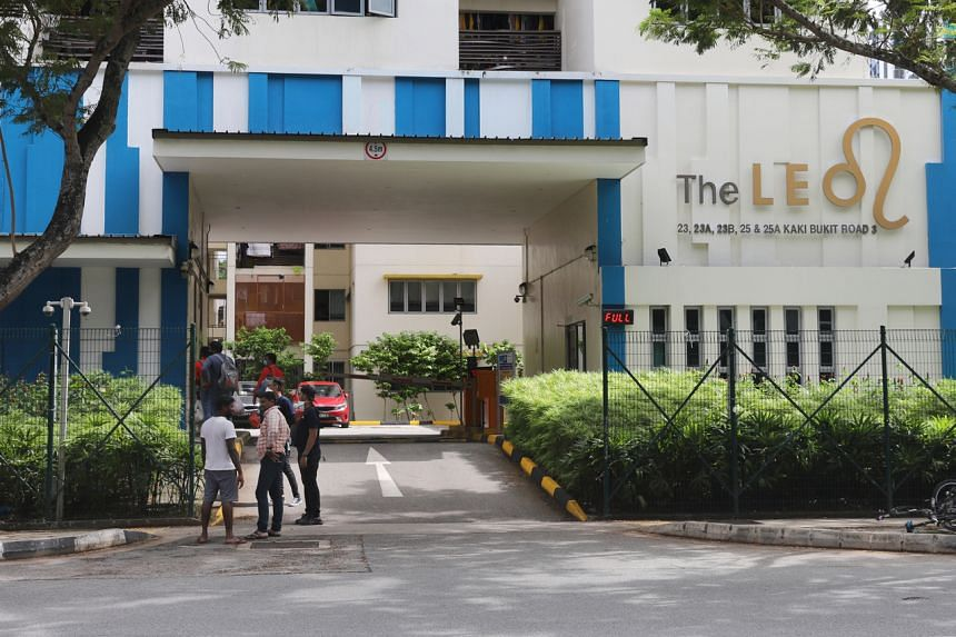 The Leo dormitory at 25 Kaki Bukit Road was announced as a new cluster on April 16, 2020.