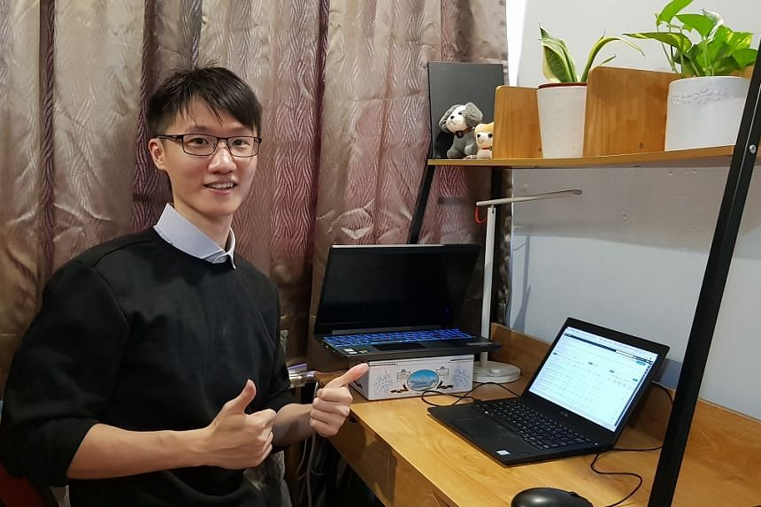 Getting international exposure at JCU has prepared Bachelor of Business graduate Mr Keng well to assimilate quickly into a multinational setting of digital marketing firm iProspect. PHOTO: JIN KENG
