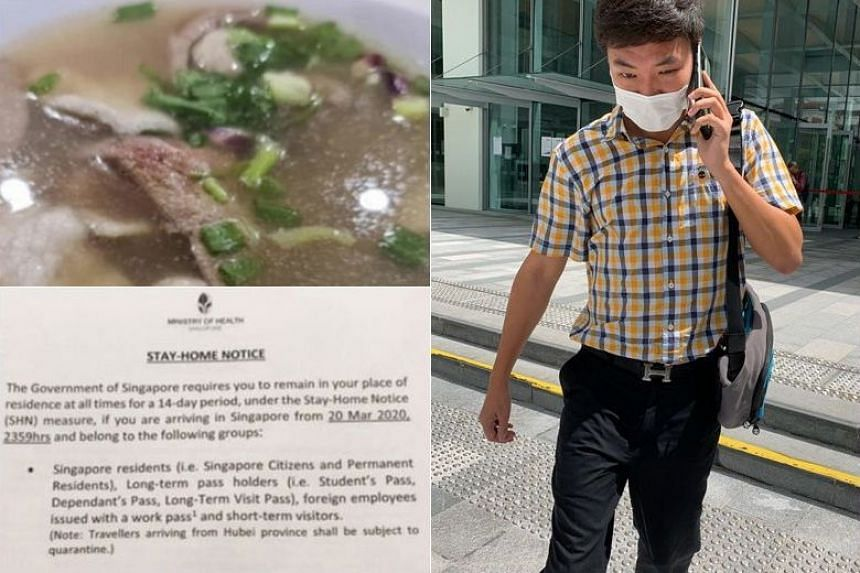 Alan Tham Xiang Sheng, 34, is the first person to be convicted of exposing others to the risk of infection by breaching an SHN.
