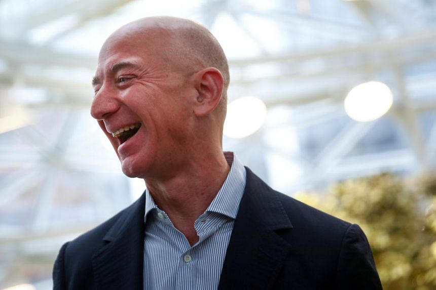 Amazon's stock climbed 5.3 per cent on April 14, lifting Bezos' net worth by US$6.4 billion to US$138.5 billion.