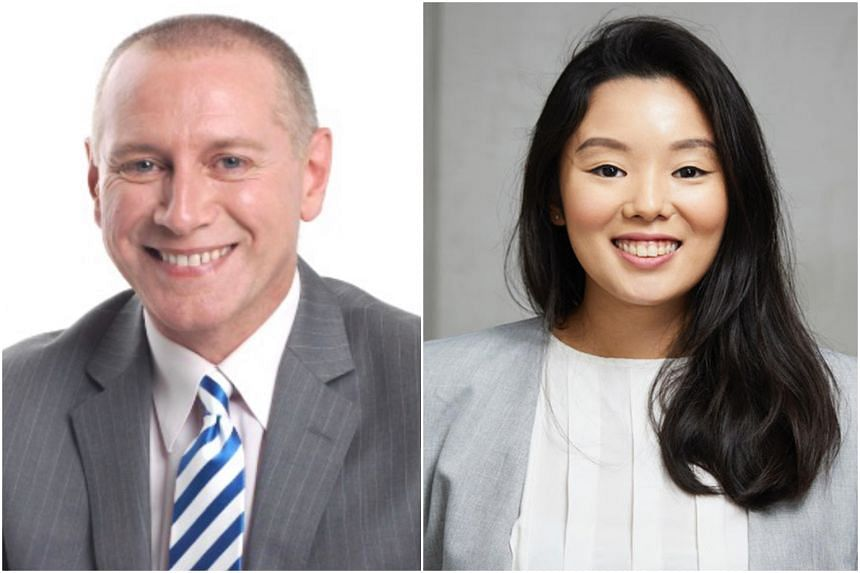 ST Masterclass business presentation coach Steve Dawson (left) and founder of Write Edge Nicolette Ng will be conducting online courses.