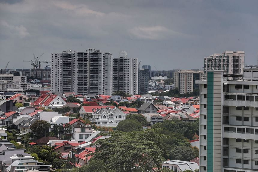 Developers in Singapore sold 660 private homes last month - the worst showing in five years - down 32 per cent from 976 in February, as the property market grappled with increasingly stringent safe distancing measures. Year on year, the number of new