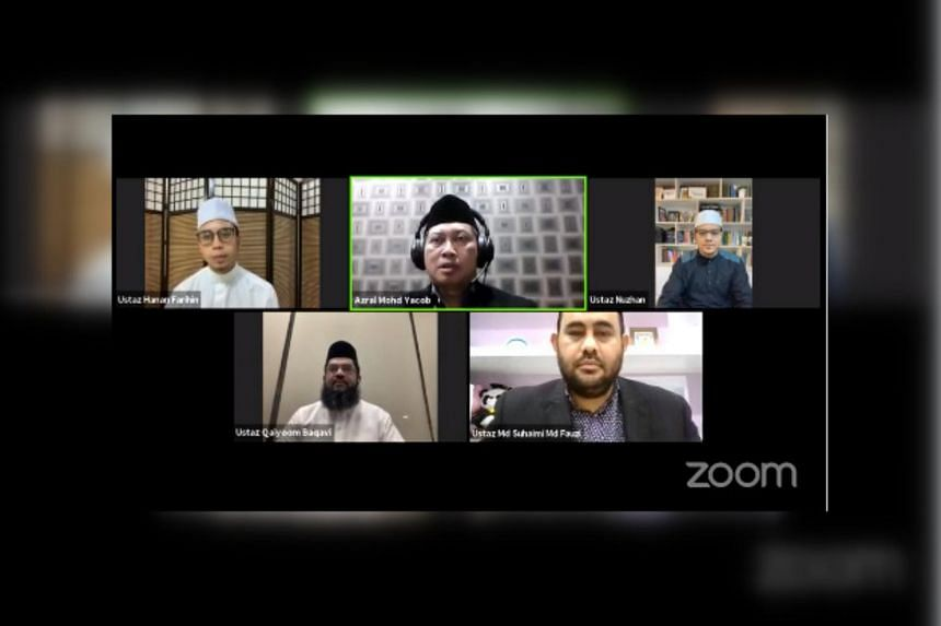 The session was streamed live on Facebook in Arabic, English, Malay and Tamil.