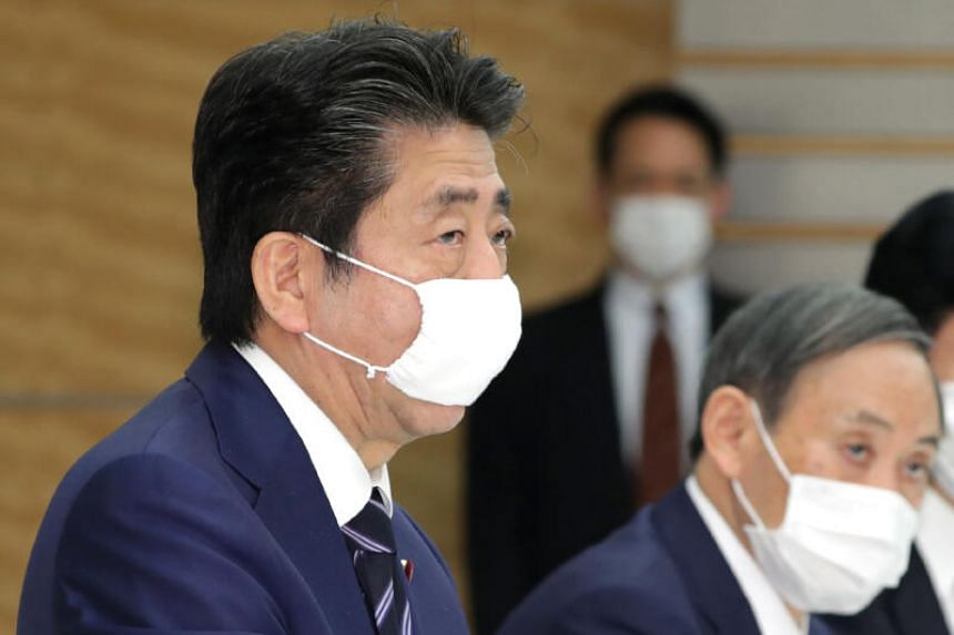 Shinzo Abe earmarked about 240 billion yen (S$3.2 billion) to support domestic companies.