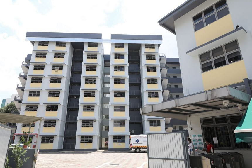 Shaw Lodge Dormitory (above), North Coast Lodge and Tuas View Dormitory have been declared as isolation areas under the Infectious Diseases Act.