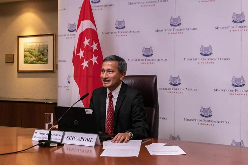 Foreign Minister Vivian Balakrishnan said the Ministerial Coordination Group reiterated the importance of maintaining global connectivity.