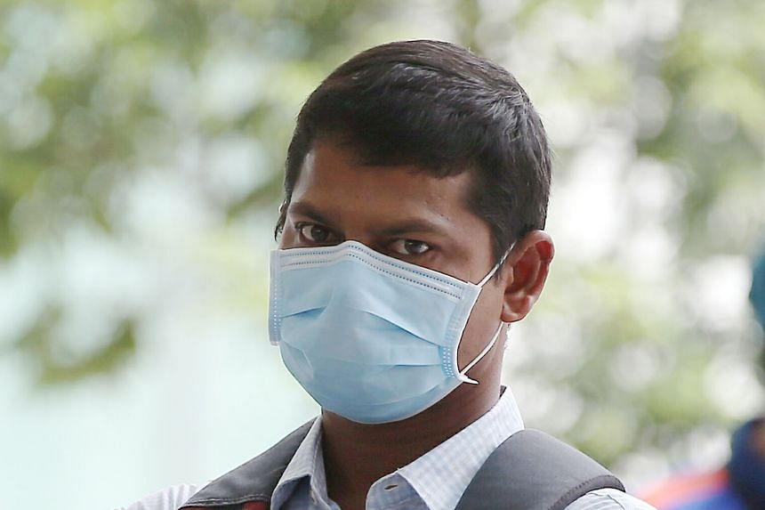 Indian national Vardireddy Nageswara Reddy, 35, faces one charge under the Infectious Diseases Act for allegedly leaving his place of isolation without permission to go to the mall.