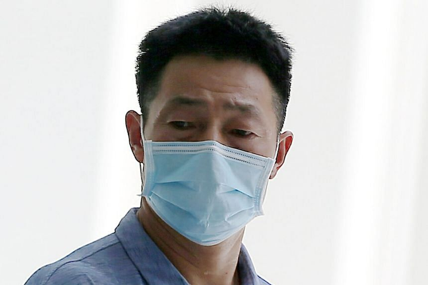 Chinese national Liu Dufeng, 49, allegedly failed to inform his employer that he was not supposed to relocate during his quarantine. ST PHOTOS: WONG KWAI CHOW