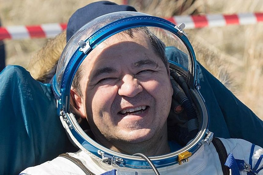 American Jessica Meir and Russian Oleg Skripochka are the other ISS crew members who returned to find a world changed by the coronavirus pandemic.