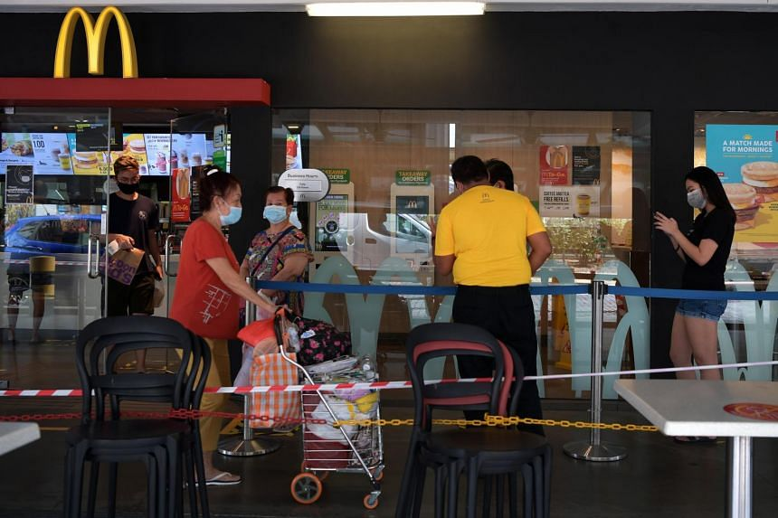 McDonald's Singapore shuts all stores