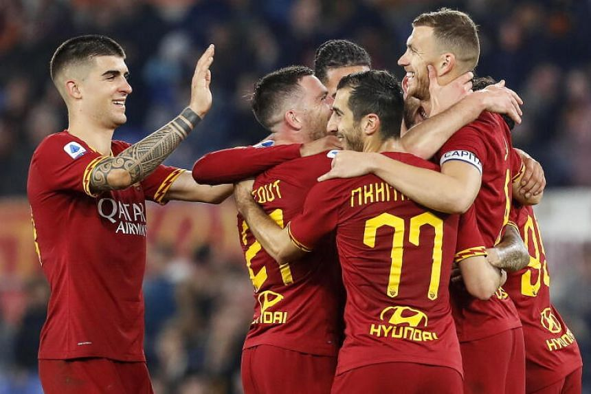 Football: AS Roma players agree to forgo four months' pay, Football News &  Top Stories - The Straits Times
