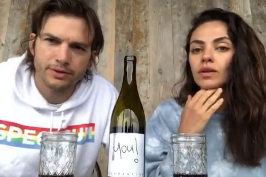 The celebrity couple is selling two bottles of Quarantine Pinot Noir at a price of $50.