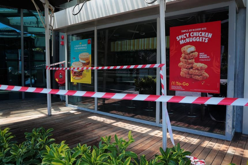 McDonald's on April 19 announced that all its branches here would be closed from 11am that day till May 4, 2020.