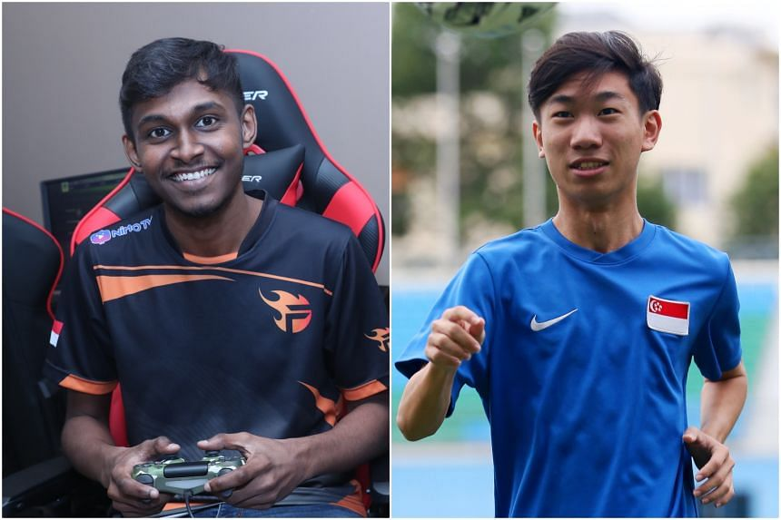 Professional e-sports player Amraan Gani and Tampines Rovers midfielder Joel Chew will represent Singapore at the tournament.