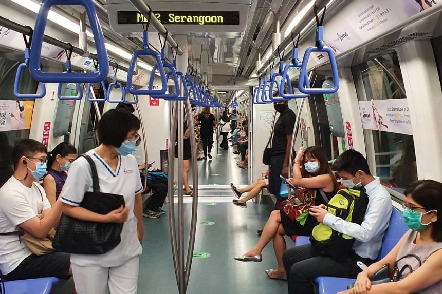 The LTA said trains will run every three minutes during peak hours, down from five minutes.