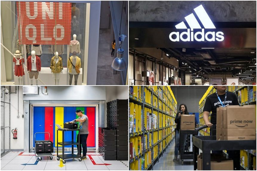 Retailers Uniqlo and Adidas Singapore came in first and second respectively, followed by technology giants Google and Amazon.
