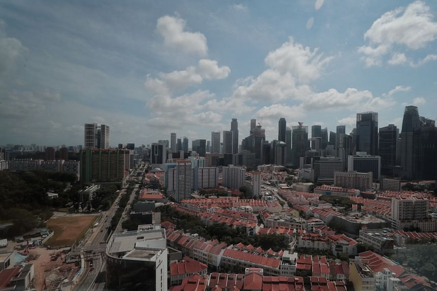 Singapore's GDP contracted an annualised 10.6 per cent in the first quarter.