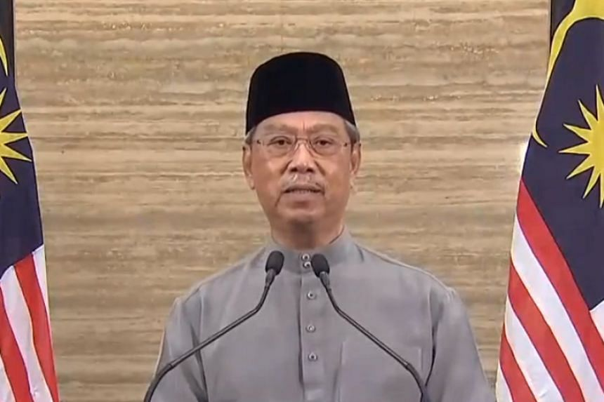 Malaysian Prime Minister Muhyiddin Yassin said he is extending the country's stay-at-home order by another two weeks.