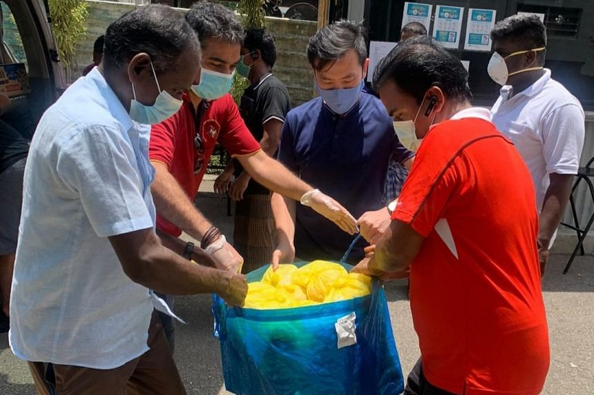 Their priority is to address the basic needs of these migrant workers.