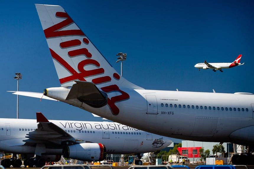 Virgin Australia succumbed to third-party led restructuring that could lead to a sale.