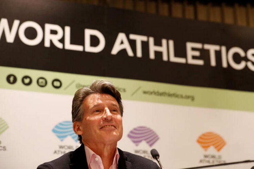 World Athletics President Sebastian Coe warns athletes against using doping substances.