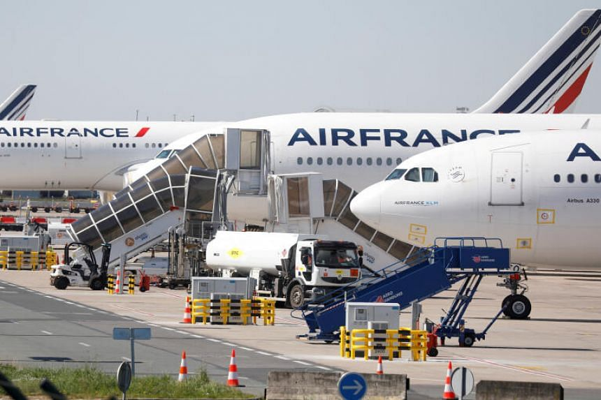 A 7 billion euro package is planned for Air France.