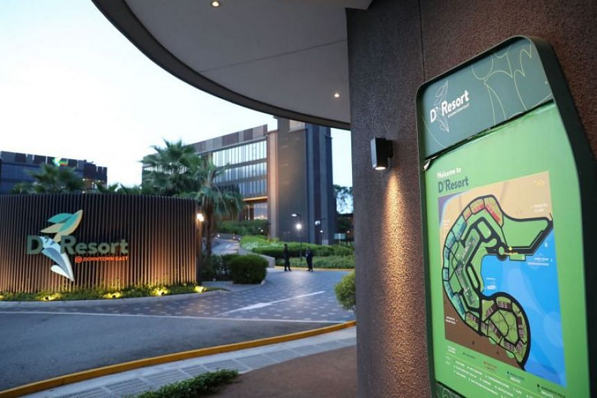 Singapore currently has three community facilities, including the D'Resort NTUC chalet in Pasir Ris, which can hold 500 people.