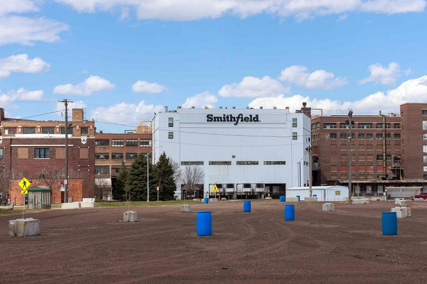 The Smithfield Foods plant in South Dakota is one of largest known coronavirus clusters in the US.