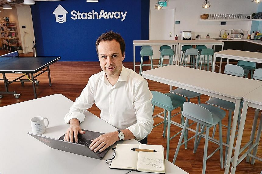 StashAway co-founder Michele Ferrario says most of the digital wealth management platform's clients continue to stick with their investment plans despite the coronavirus crisis, although some have paused or, in some cases, liquidated their portfolios