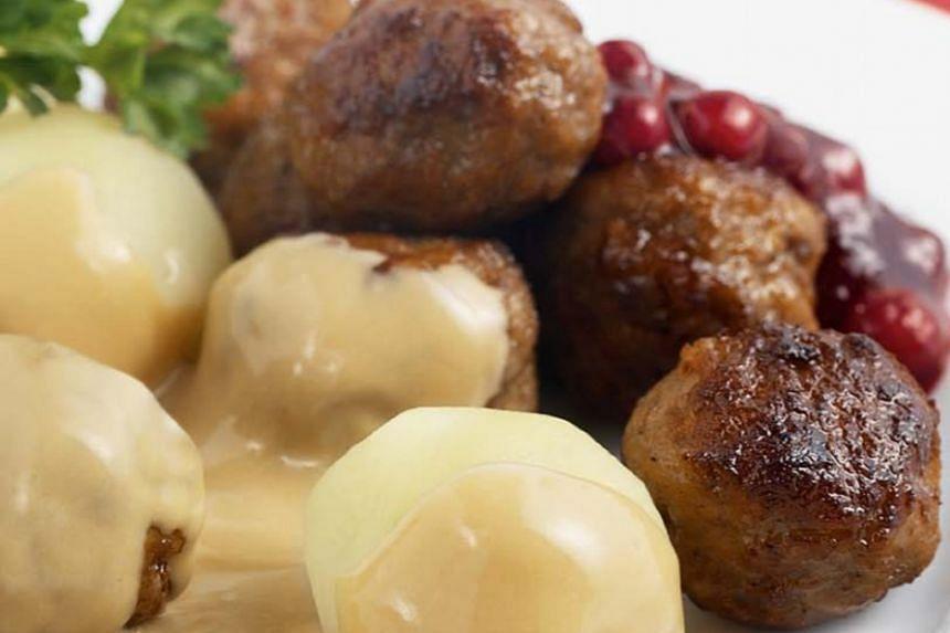 Ikea's Meatballs.