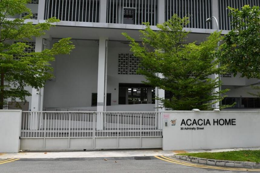 The affected residents and staff of Acacia Home are now warded at Khoo Teck Puat Hospital.
