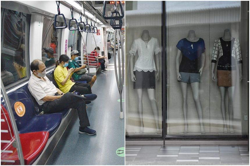 Among the sectors affected are transport and clothing.