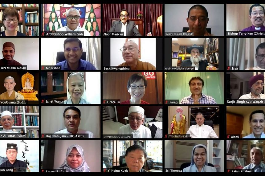 The pledge took place on video-conferencing platform Zoom.