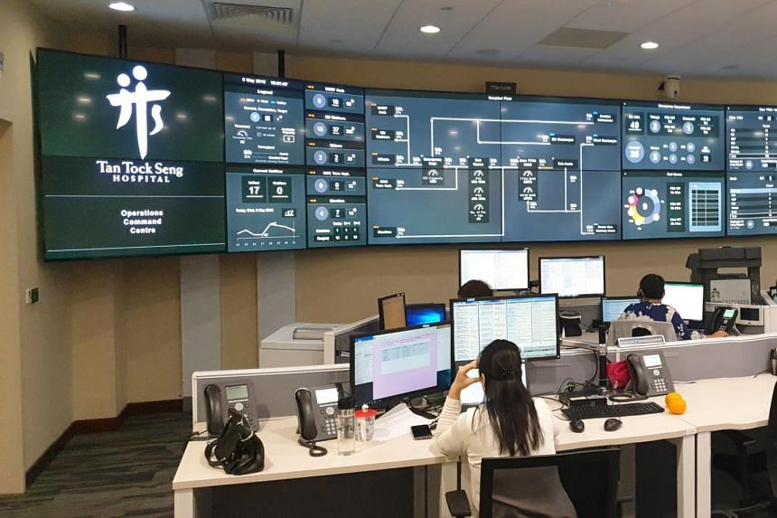 The Command, Control and Communications smart hospital system at Tan Tock Seng Hospital was rolled out last year.