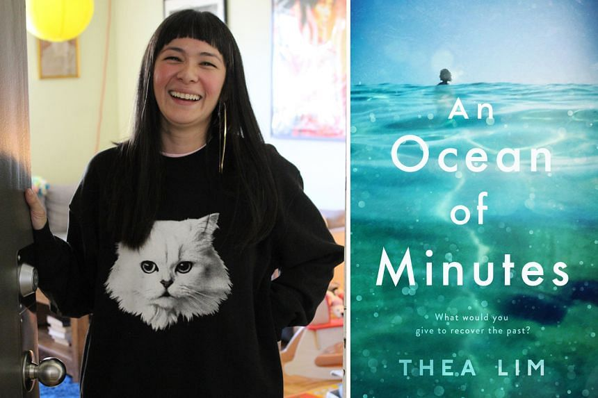 THEA LIM (above left),  who wrote An Ocean Of Minutes