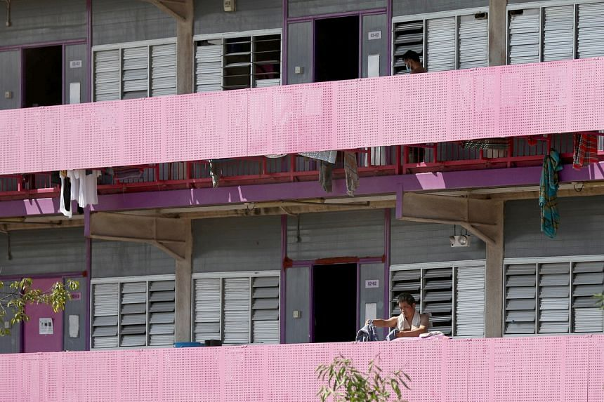 Migrant workers living in dormitories continue to form the most of the new cases.
