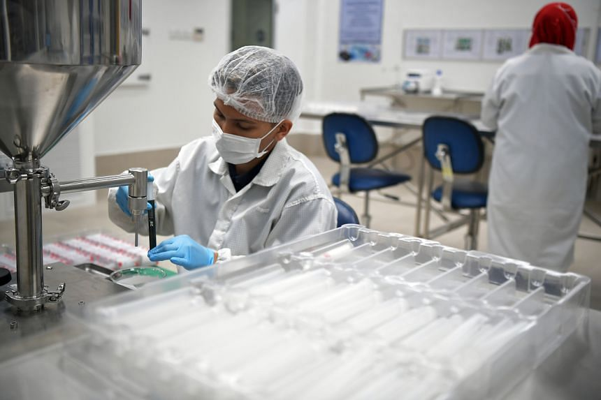 The biomedical sector kept industrial production in positive territory in the first quarter by surging 68 per cent.