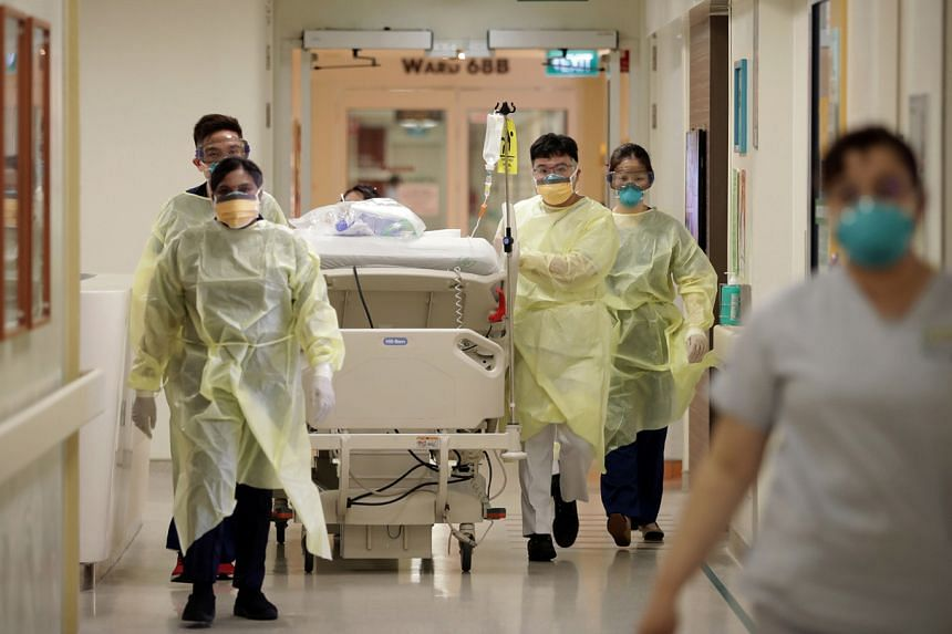 MOH is also calling for more current and former medical professionals to step up and be on standby.