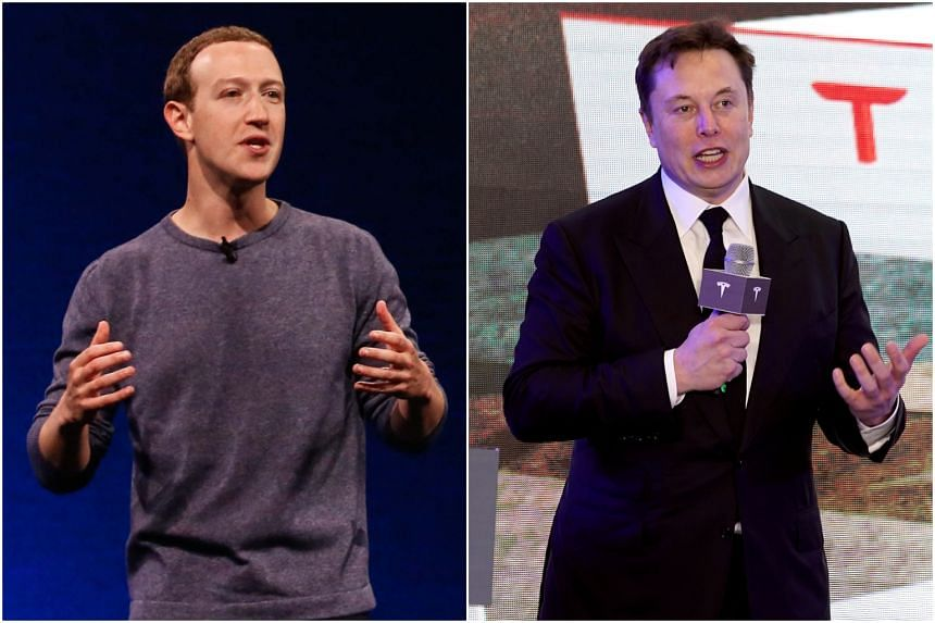 """Facebook's Mark Zuckerberg expressed concerns about easing lockdown measure, while Tesla's Elon Musk said it was """"fascist"""" to say people cannot leave their homes."""