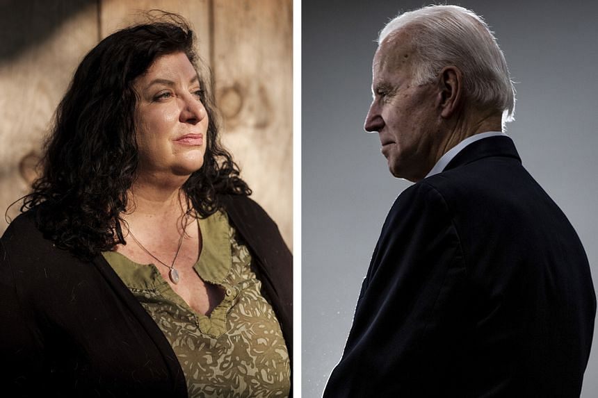 Ms Tara Reade alleges that Mr Joe Biden assaulted her in 1993, when she was a 29-year-old staff assistant in the office of the then senator from Delaware. PHOTOS: NYTIMES