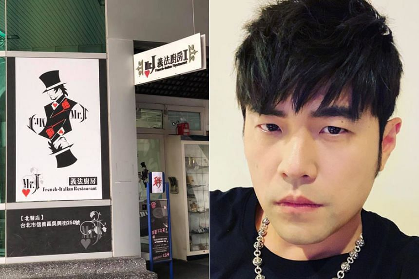 """Jay Chou's Mr J French-Italian Restaurant has become a """"must-go"""" place for his fans when they go to Taipei."""