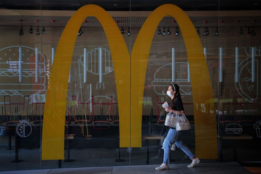 McDonald's stopped takeaways on April 18 after some of its employees were diagnosed with the coronavirus. It decided the following day to close all 135 of its outlets.