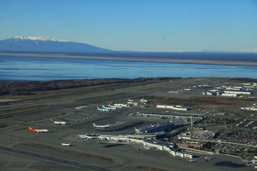 Anchorage Airport is one of the world's top five air-cargo hubs.