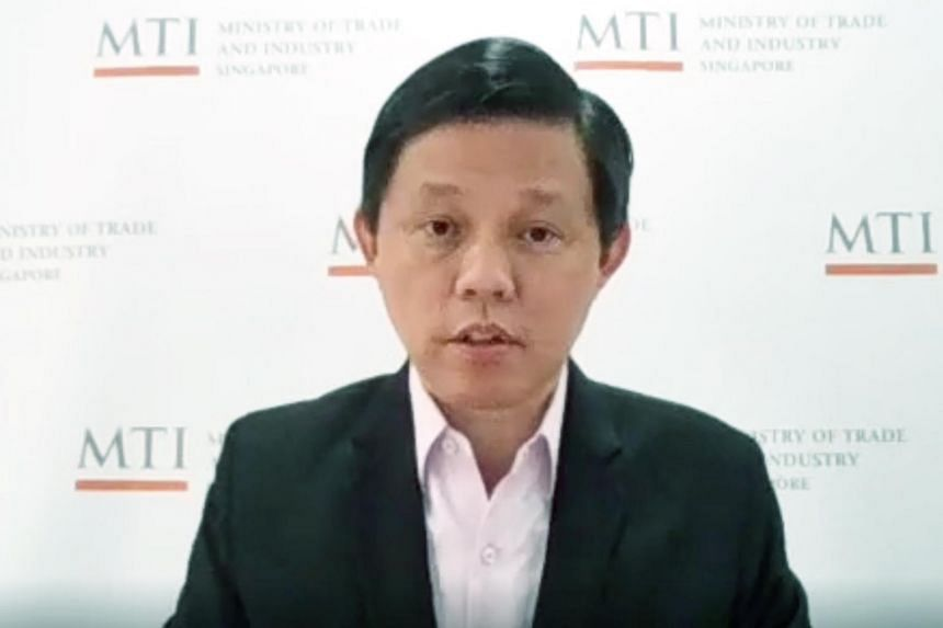 Trade and Industry Minister Chan Chun Sing said that no significant delays were foreseen in the signing of the agreement.
