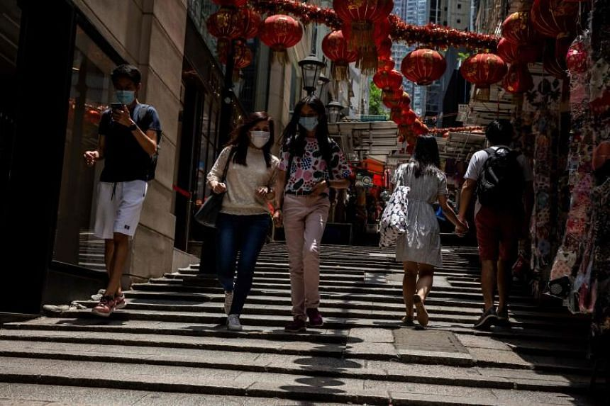 Hong Kong's economy suffers worst quarterly contraction in history