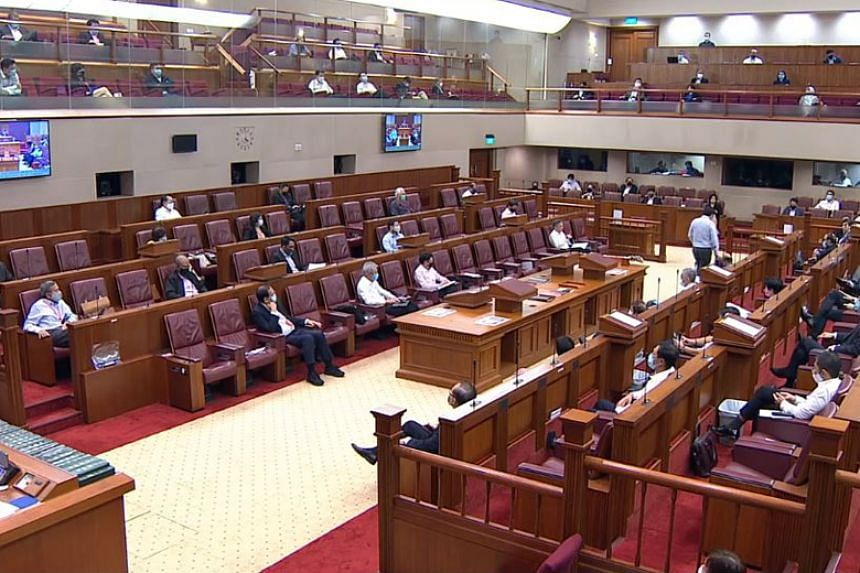 Members of Parliament masked up for the first Parliament sitting since the wearing of a face mask in public was made mandatory.