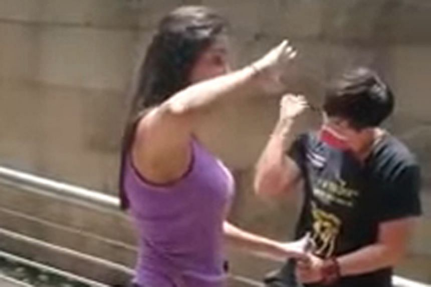 Videos of altercations involving the woman have been circulating online.