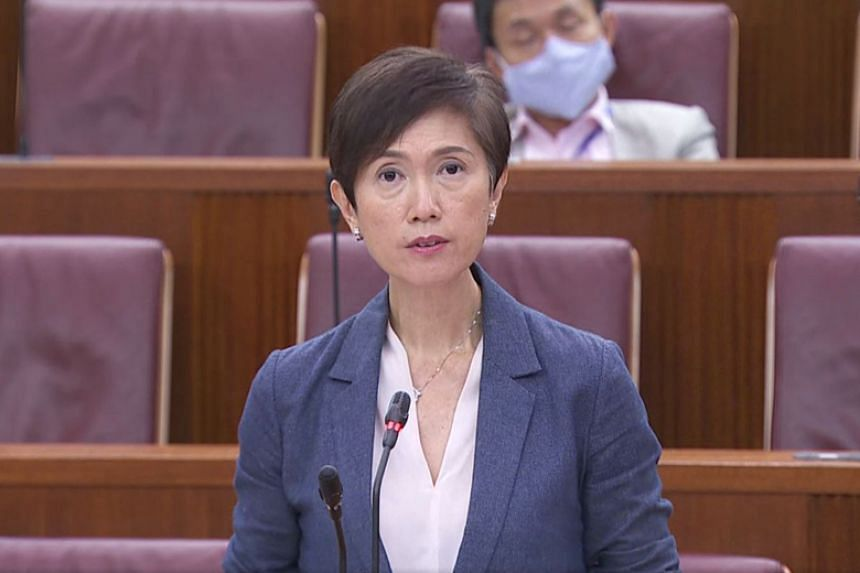 Manpower Minister Josephine Teo said about half of the 43 dormitories here breach licencing conditions each year.