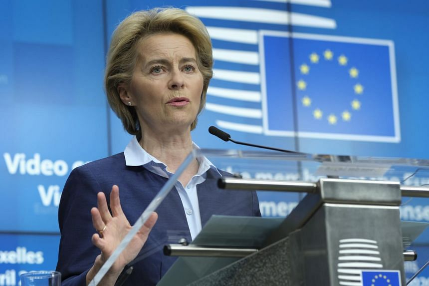 European Commission President Ursula von der Leyen, outlined the fund-raising plan for the scientific fight-back against Covid-19, on May 1.