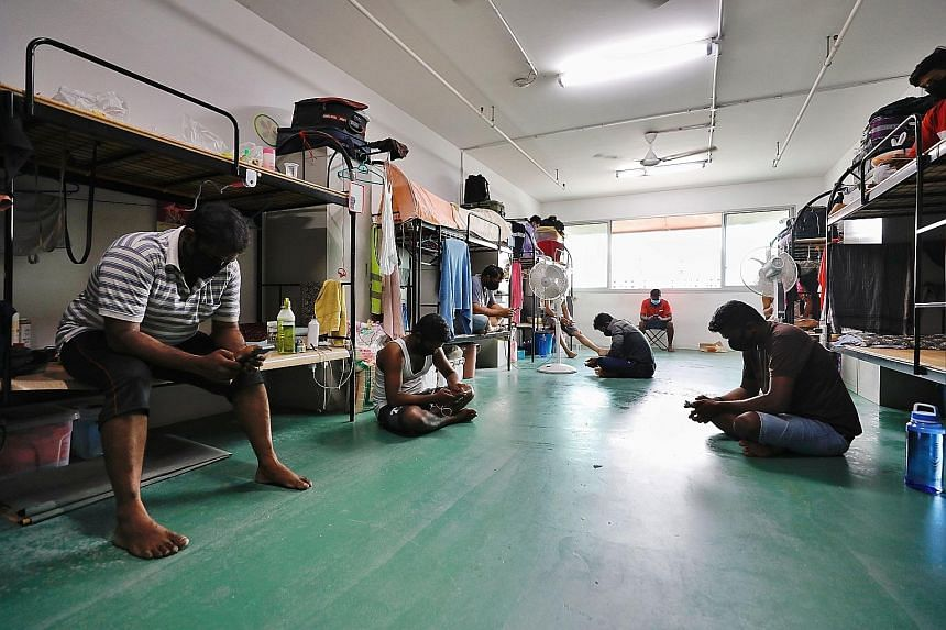 Manpower Minister Josephine Teo said accommodation standards for migrant workers have become better over the years, but acknowledged that further improvements can be made. About 20 purpose-built dormitories for foreign workers breach dormitory licenc